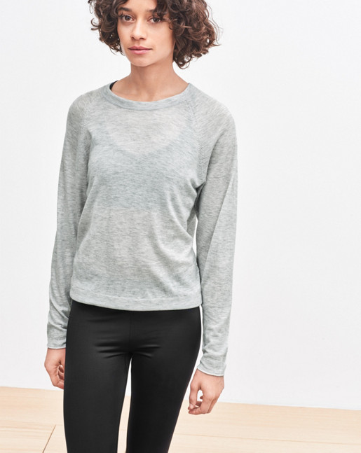Cash Air Sweater Light Grey