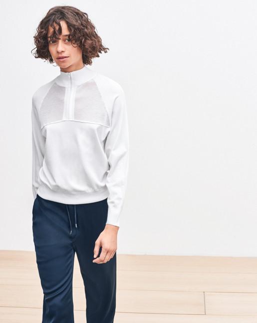 Net Zip Pullover