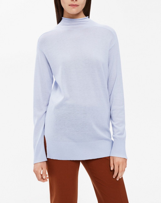 Mock Neck Pullover Arctic