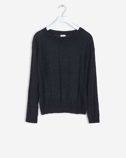 Delicate Mohair Pullover Black