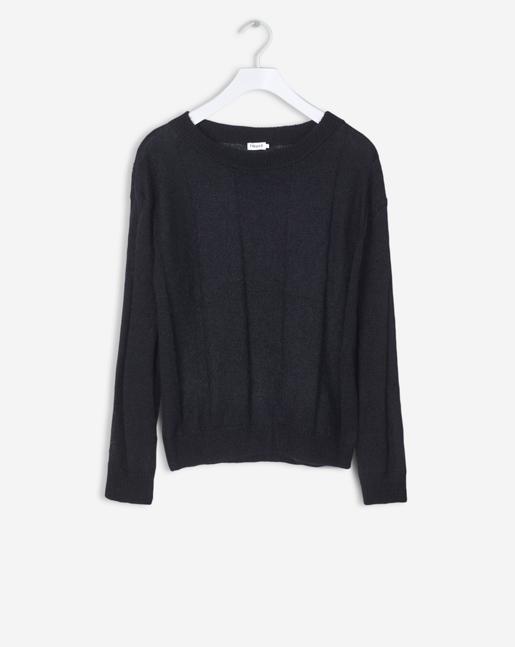 Delicate Mohair Pullover Black