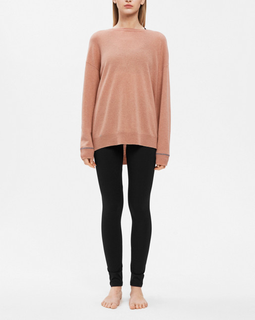 Cashmere Sweater Blush Mel.