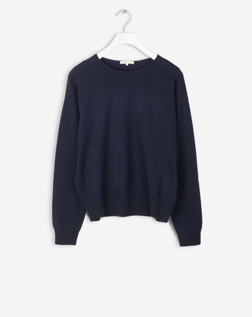 Cashmere Sweater Navy