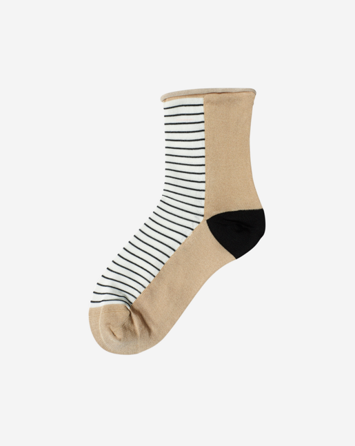 Stripe Sock Sand