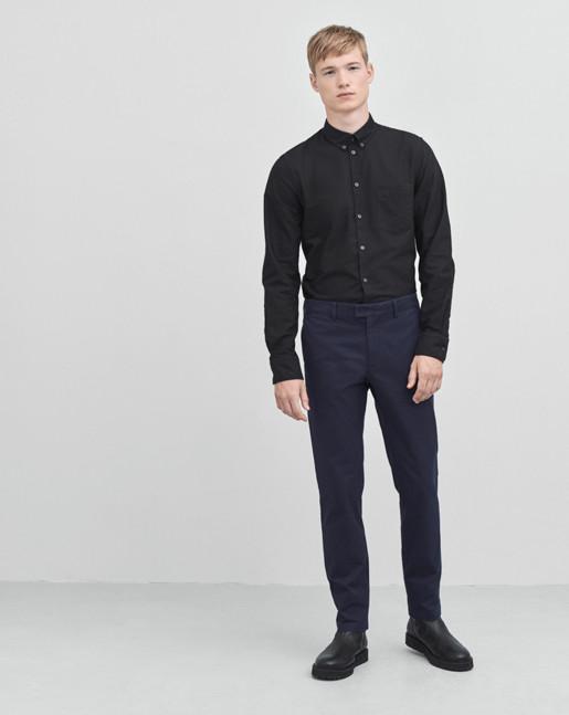 Paul Oxford Shirt Black