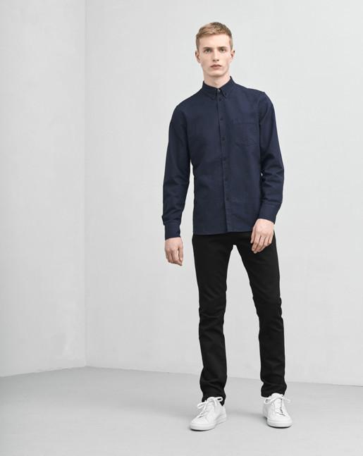 Paul Oxford Shirt Navy