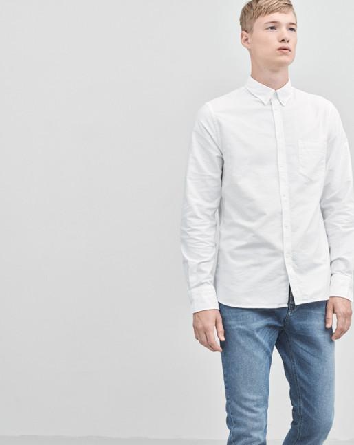 Paul Oxford Shirt White