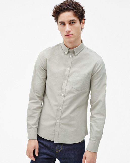 Paul Oxford Shirt Coin/Olive