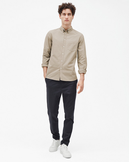 Paul Oxford Shirt Light Beige