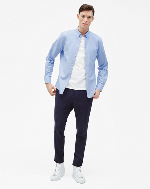 Paul Oxford Shirt Light Blue
