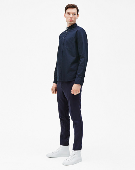 Paul Oxford Shirt Navy