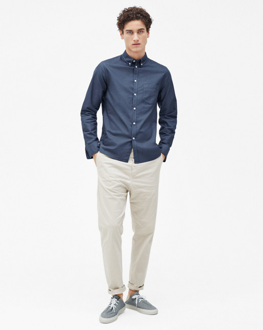 Paul Oxford Shirt Pacific