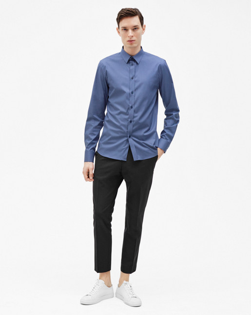 Paul Stretch Shirt Coastal