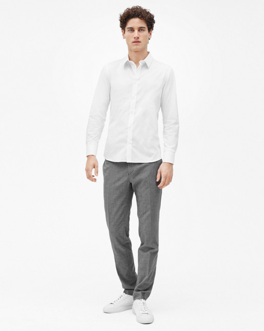 Paul Stretch Shirt White
