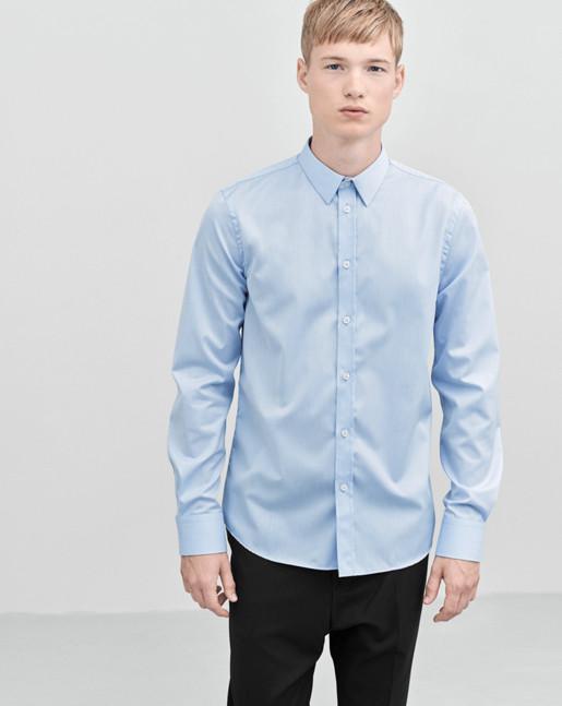 Pierre Twill Shirt Airblue