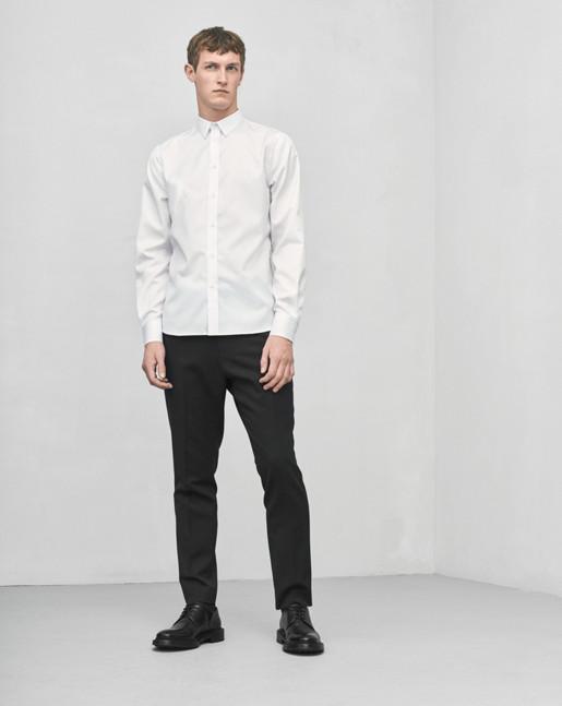 Pierre Twill Shirt White