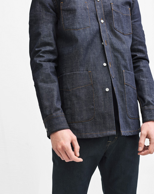 Lavy Raw Denim Overshirt