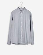 Peter Silk Nep Shirt Light Grey
