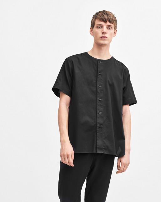 Baseball Linen Shirt