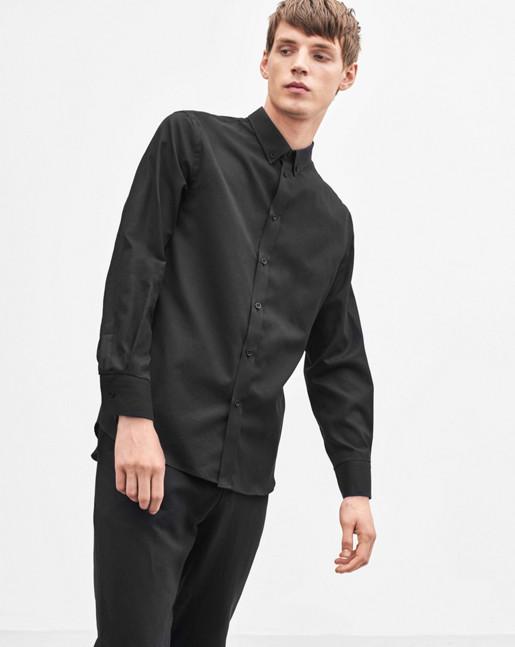 Pierre Linen Shirt Black