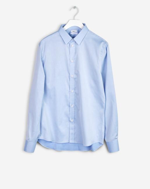 Pierre Twill Shirt Air Blue