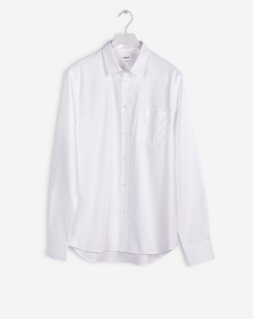 Pierre Pocket Shirt White