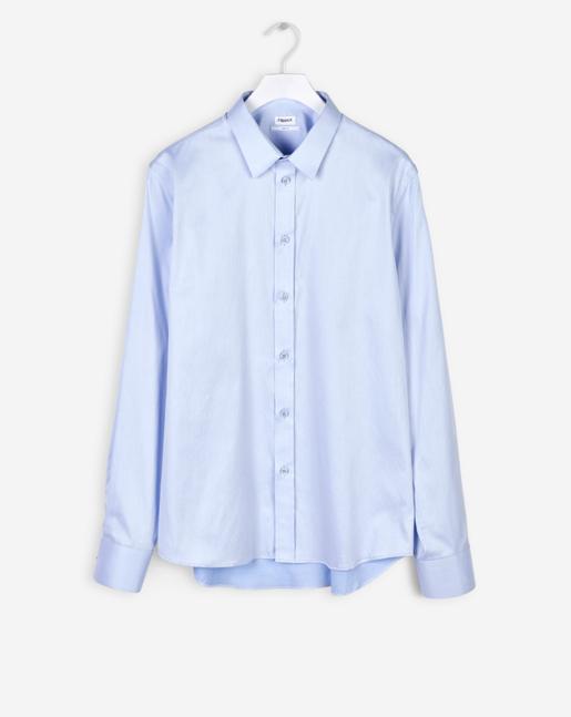 Pierre Twill Shirt Light Blue