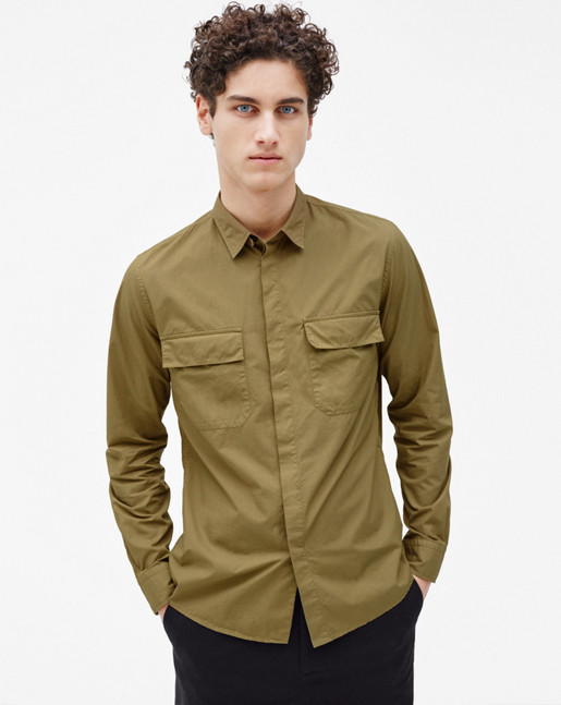 Peter Utility Shirt Olive