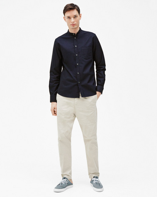 Pierre CL Oxford Shirt Navy