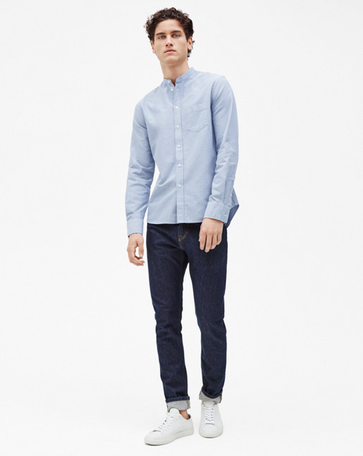 Pierre CL Oxford Shirt Skyway/Coin