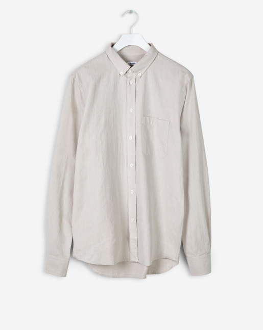 Pierre Casual Shirt Light Beige