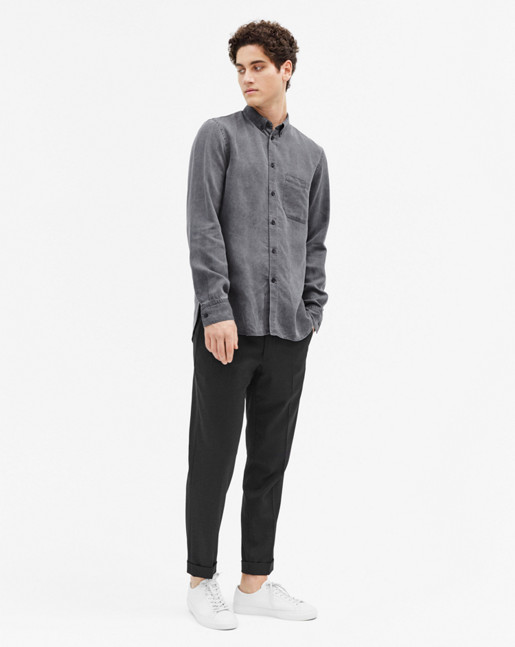 Peter Washed Lyocell Shirt