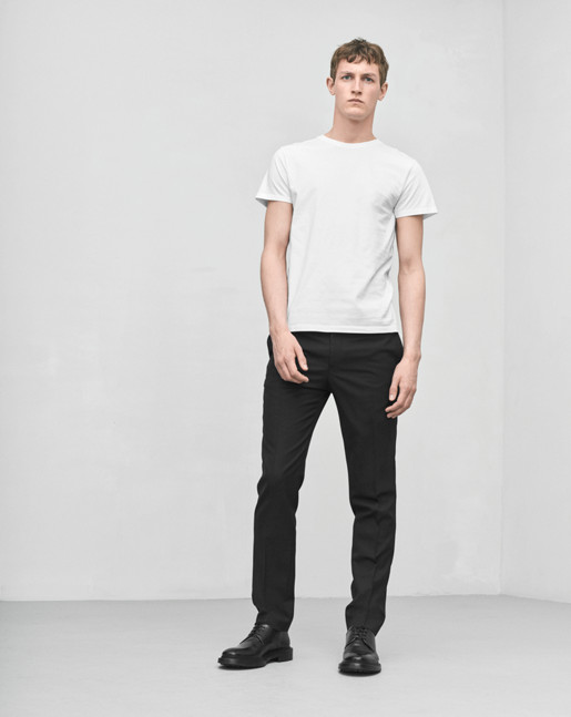 Christian Cool Wool Slacks Black