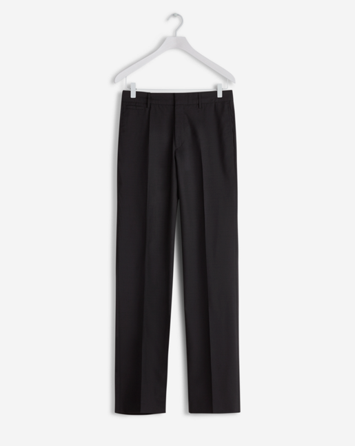 Christian Cool Wool Slacks Black