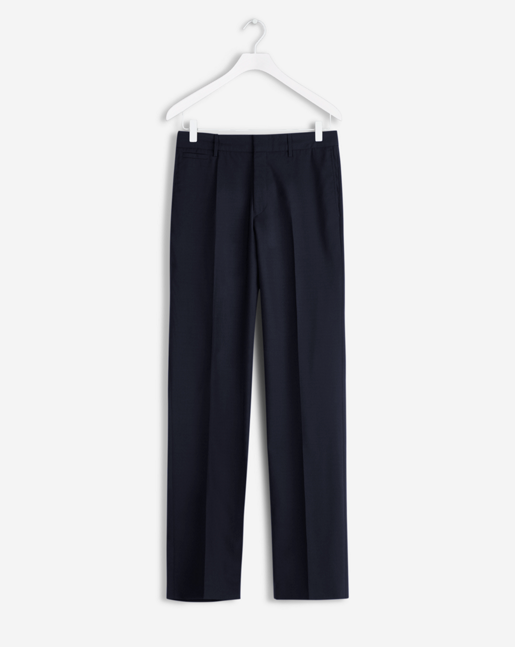 Christian Cool Wool Slacks Dk. Navy