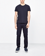 Liam Cotton Stretch Chino Navy
