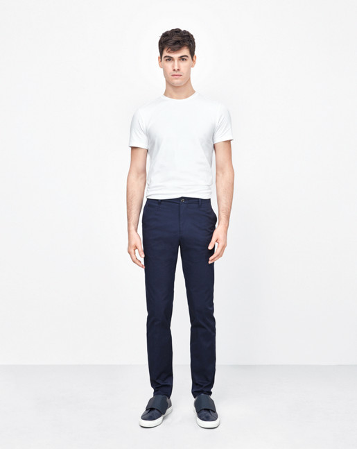 Liam Sharp Chinos Navy