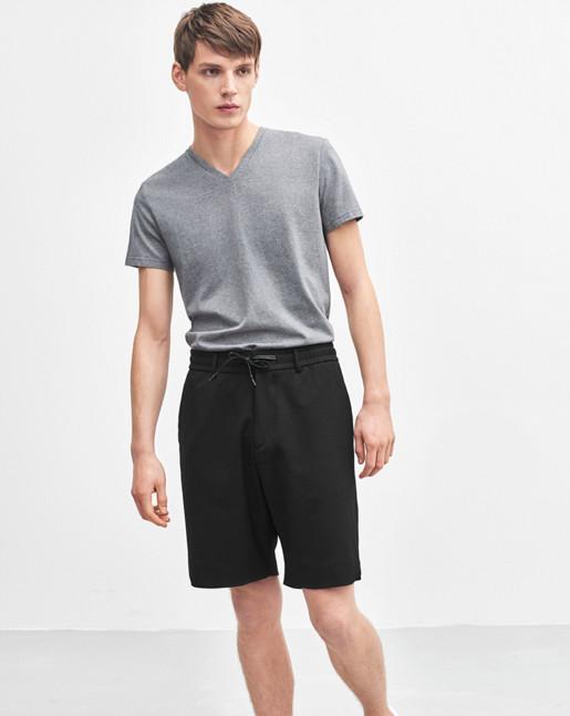 Liad Wool Shorts