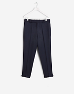 Gregory Cropped Cavalry Twill Navy