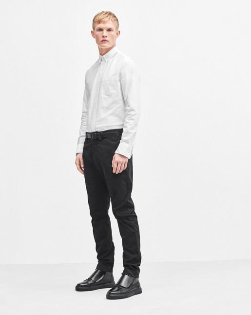 Arek Cotton Pants Black
