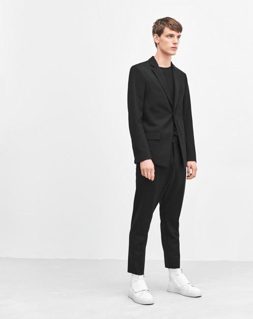 Ilan Wool Cropped Slacks