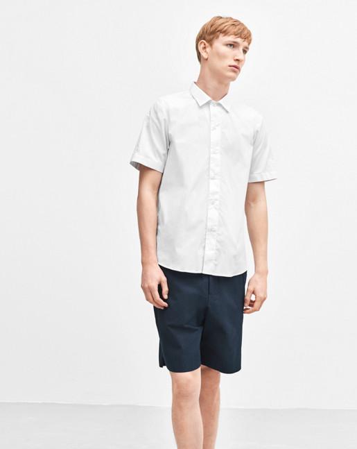 Liad Seersucker Shorts