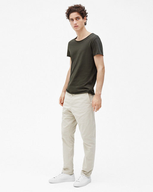 Lawrence Cotton Chino Light Beige