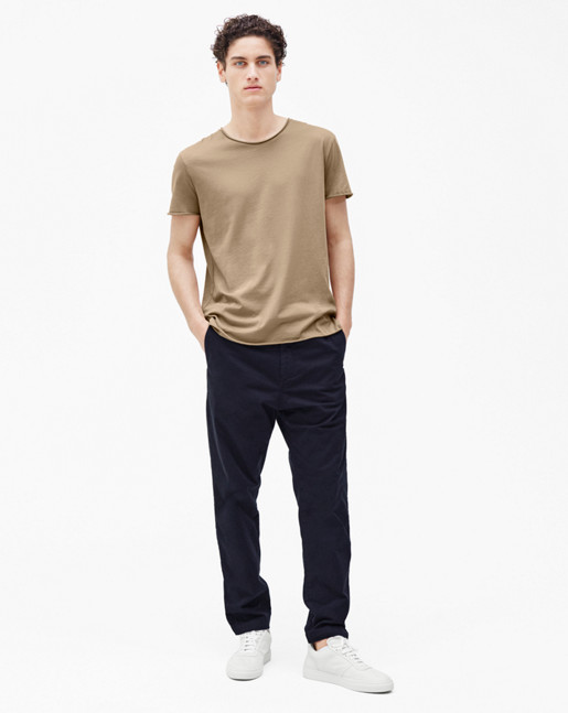 Lawrence Cotton Chino Navy