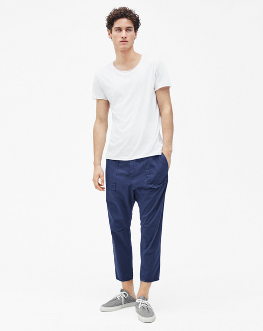 Utility Cotton Pants Pacific