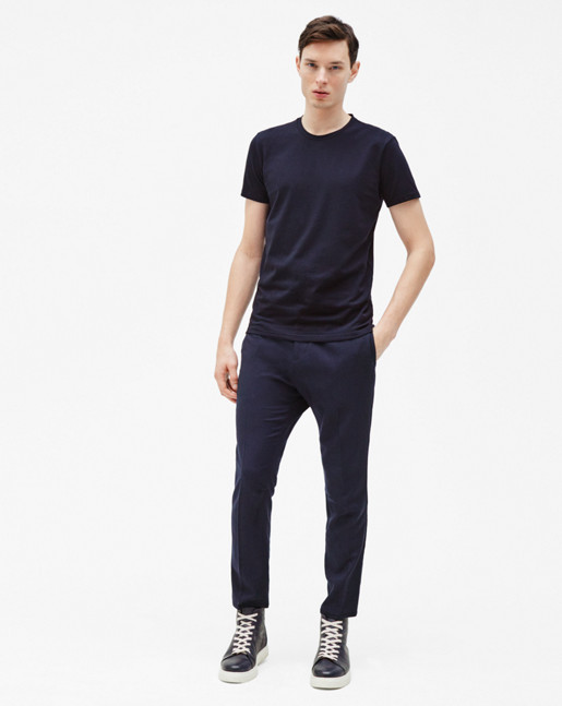 Noah Knit Slacks Navy