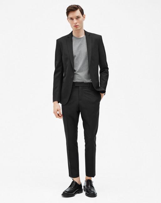 Christian Cool Wool Jacket Black