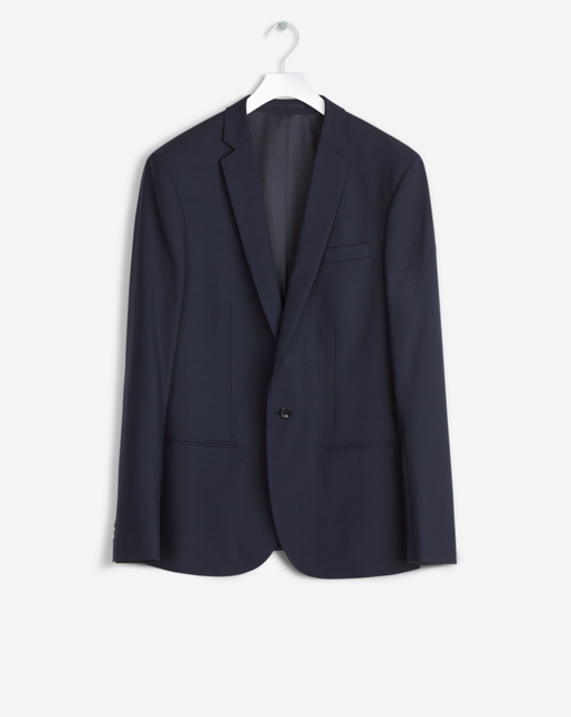 Christian Cool Wool Jacket Dk. Navy