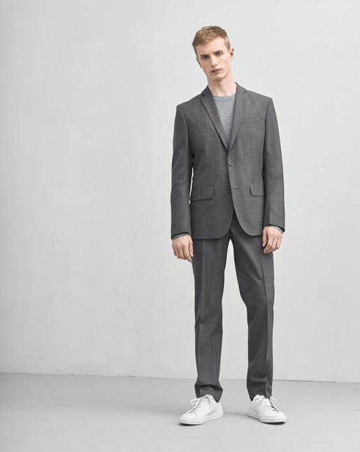 Tom Cool Wool Jacket Grey Mel