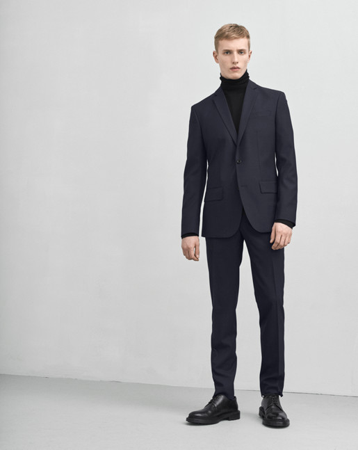 Tom Cool Wool Jacket Dk Navy